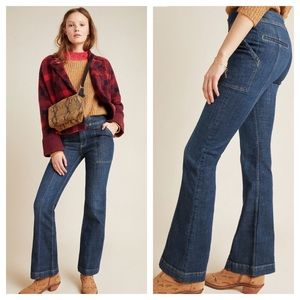 Anthropologie Pilcro Highrise Utility Bootcut Jean